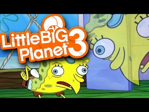 Little Big Planet 3 - SPONGEBOB DEATHRUN - LittleBigPlanet 3
