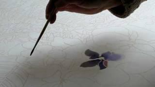 Батик мастер-класс Музы Кирницкой / Silk painting workshop thumbnail
