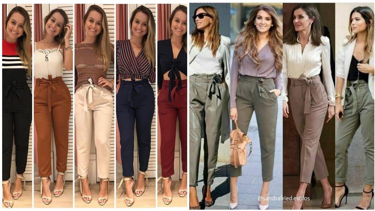 Outfits Con Pantalones Jogger Imagenes De Pantalones Jogger Para Mujer Youtube