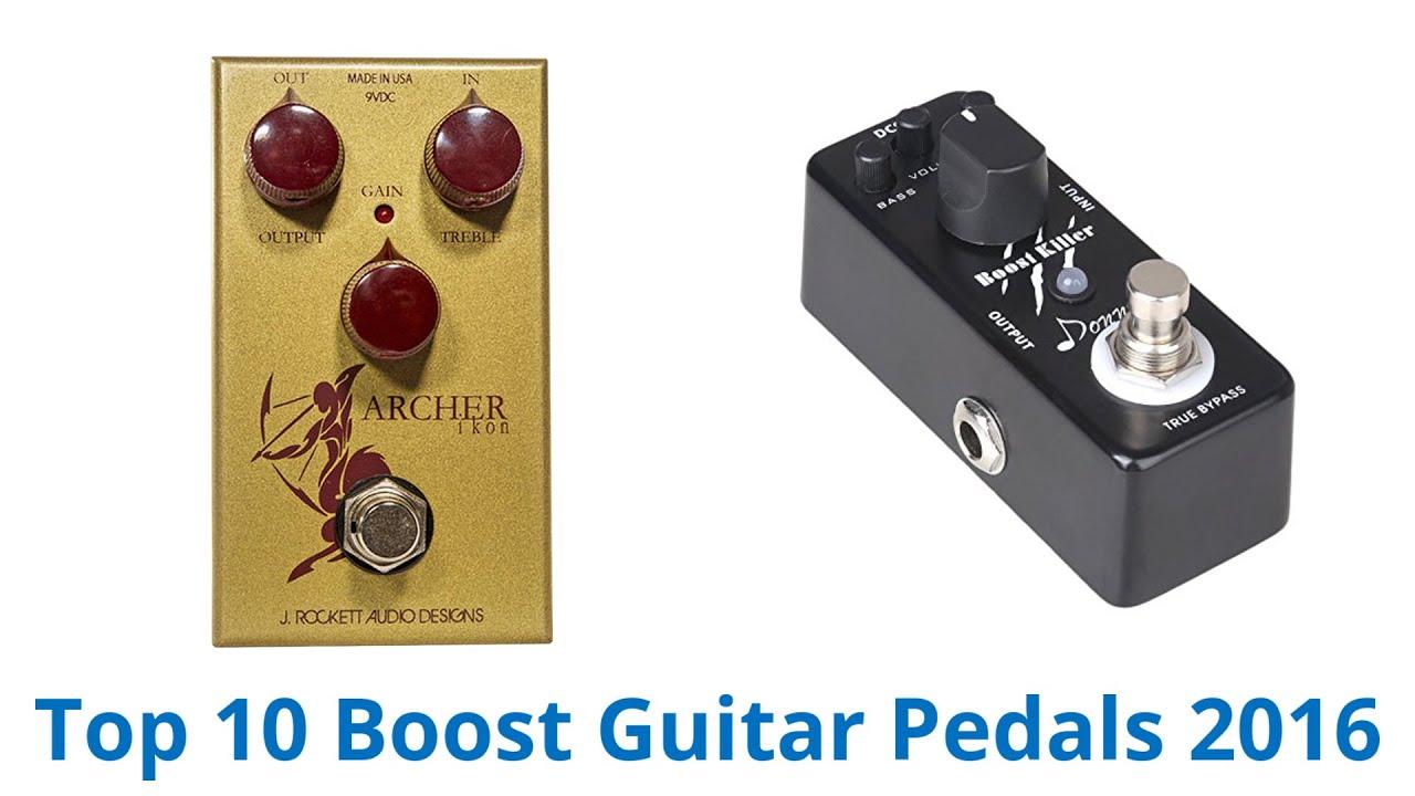 Best Boost Pedals : 10 best boost guitar pedals 2016 youtube ~ Russianpoet.info Haus und Dekorationen