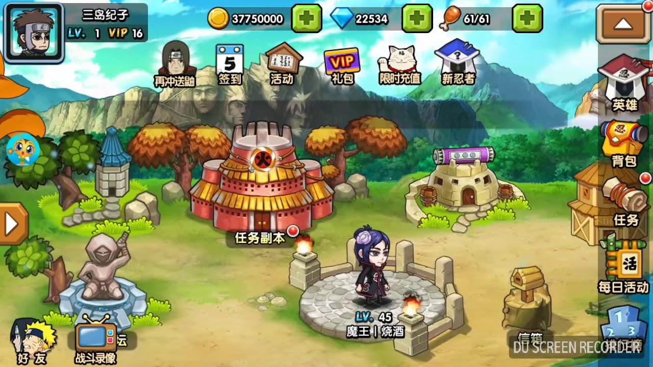 Ninja heroes apk mod vip 16