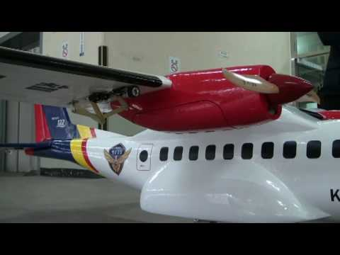 Final check for a maiden flight of DIYed CN-235