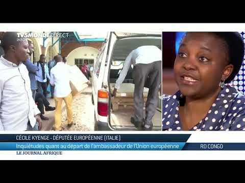 RDC : l'ambassadeur de l'Union Européenne sommé de quitter Kinshasa avant les élections