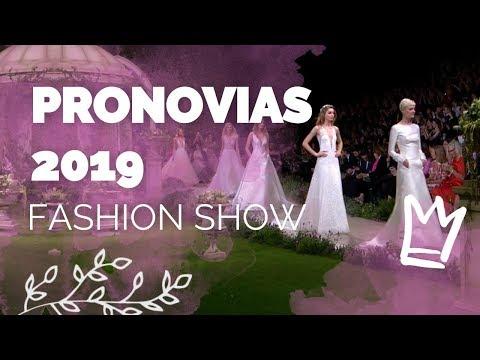 Desfile Pronovias 2019
