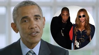 Did Barack Obama Just Reveal the Sex of Beyonce & Jay Z