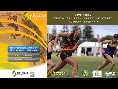 SSA Touch Football Championships 2018 | U12 & U15 | Day 5 | 26.10.18 | LIVE STREAM