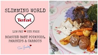 Slimming World Syn Free/low Fat Tefal Actifry Roasted Potatoes, Parsnips And Carrots