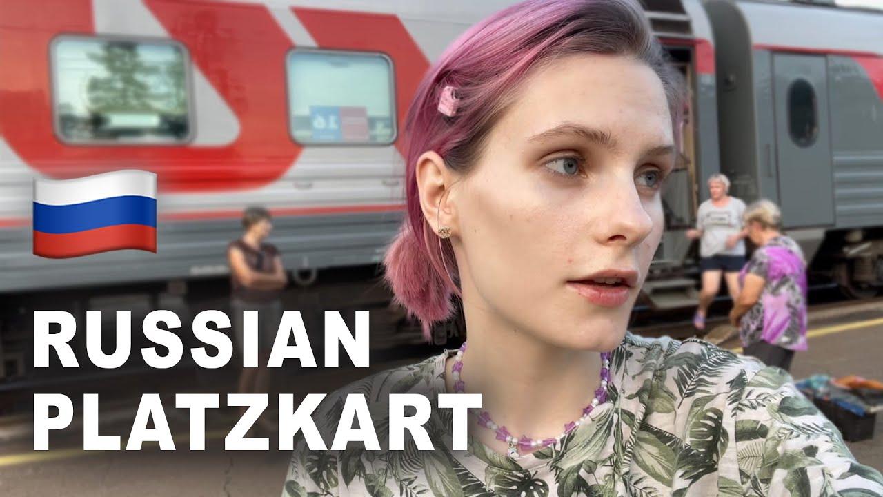 Traveling the TransSiberian in the 3rd class train  Russian platzkart
