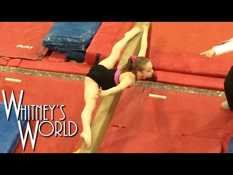 Whitney in the Gym | Beam and Floor