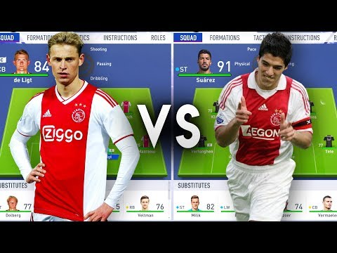 Present 2019 Ajax Team VS Former Ajax Team - FIFA 19 Experiment