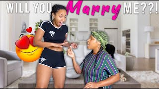 Asking my Girlfriend to *MARRY ME* (EMOTIONAL)  | EZEE X NATALIE