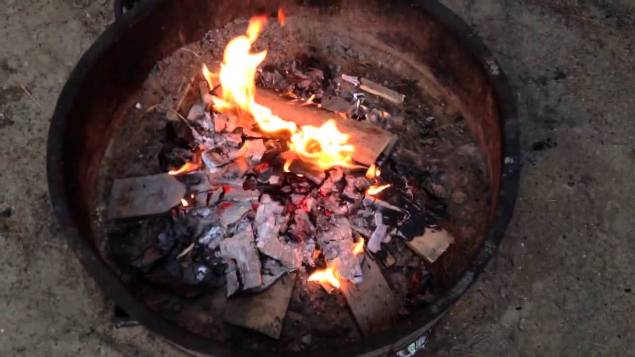 How To Make Baked Potatoes In A Campfire  Campfire Meal