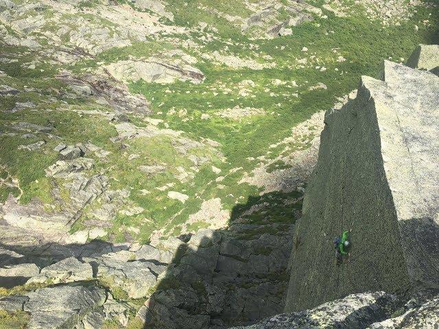 Northeast Ridge, Pinnacle Buttress | Rock Climbing Mount Washington