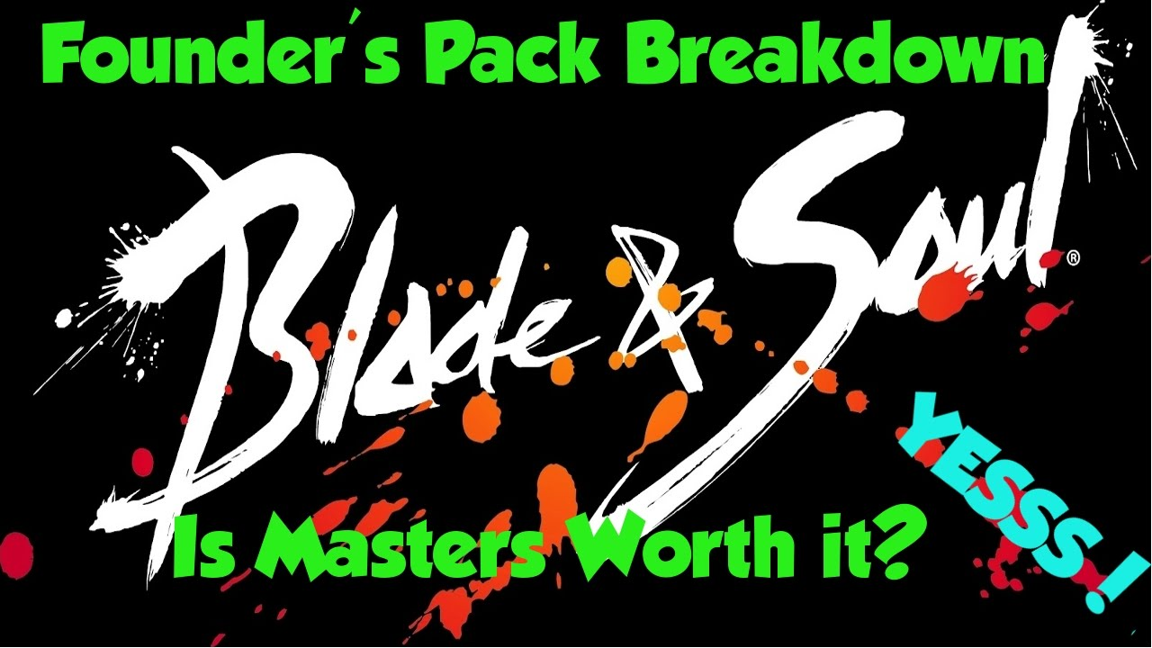 blade and soul founders pack giveaway blade soul founder pack breakdown masters yes no 9651
