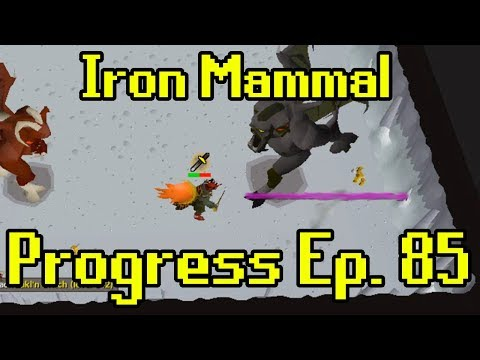 Oldschool Runescape - 2007 Iron Man Progress Ep. 85 | Iron Mammal