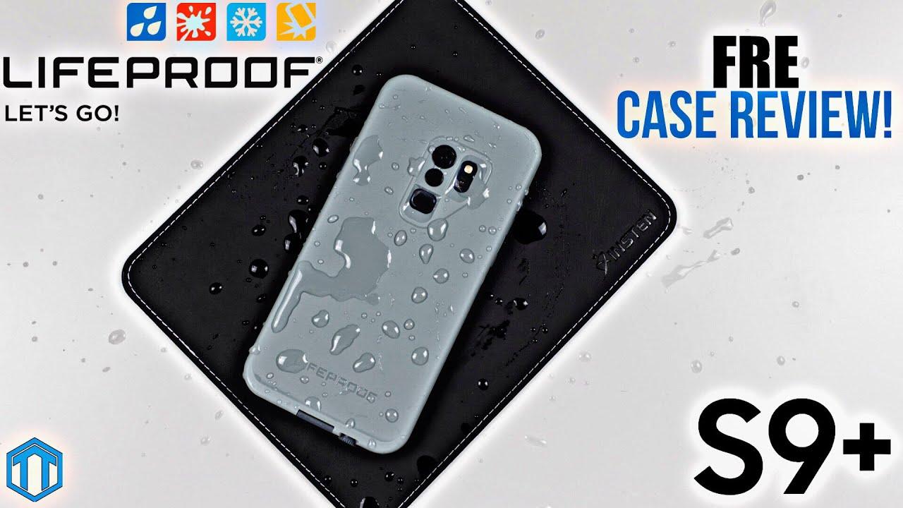 release date 79d76 5c6ea Samsung Galaxy S9 Plus LifeProof FRĒ Case Review!