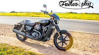 Тест-драйв Harley-Davidson Street 750 - Night Rod младший.(Всем привет! Harley-Davidson Street 750 – это самый доступный новый Харли из всех, которые можно приобрести в России...., 2015-11-04T20:43:31.000Z)