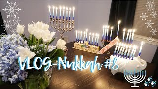 VLOGnukkah #8 THE LAST NIGHT OF HANUKKAH - Daily Hanukkah Vlogs