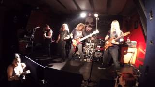 Flotsam and jetsam - She took an axe LIVE @ Orto bar, Ljubljana, Slovenia (01.06.2015)