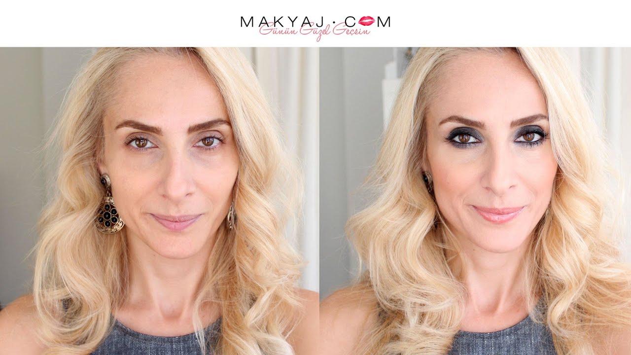 Elmas Göz Makyajı Nasıl Yapılır