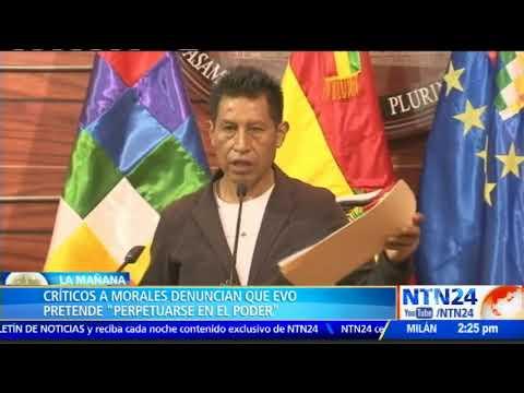 """""""La reelección no es un derecho humano"""": Luis Almagro"""