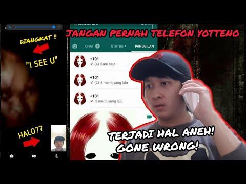 VIDEO CALL YOTTENO !! | DIANGKAT LANGSUNG YOTTENO | VIRAL AKUN MILIK HANTU DI FACEBOOK