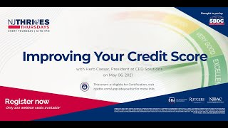 NJTT #001: Improving Your Credit Score