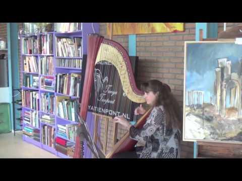 O, My beloved father - Puccini - Harp Achtergrondmuziek -  Harpiste Tanya Tienpont