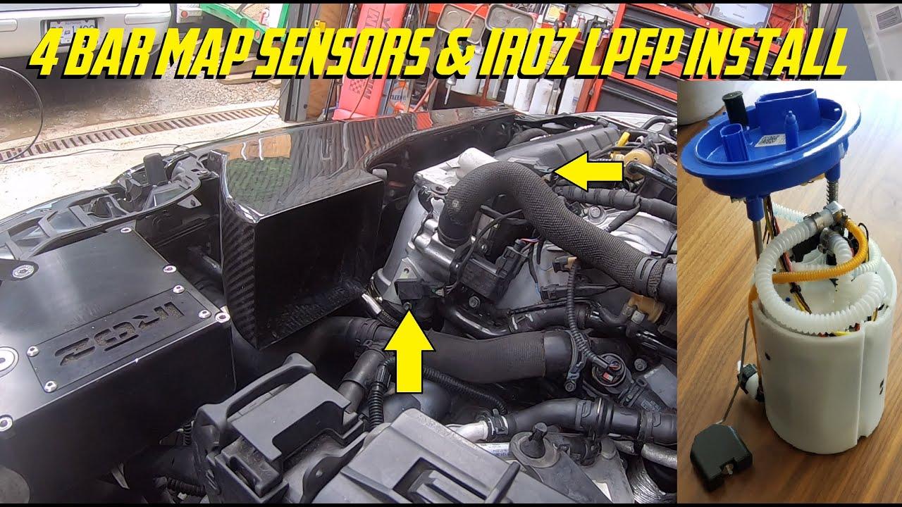 Unitronic 4 Bar MAP Sensors & Iroz LPFP Install - TTE700 Built Engine Tune