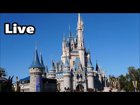 Magic Kingdom Live Stream - 4-13-18 - Walt Disney World