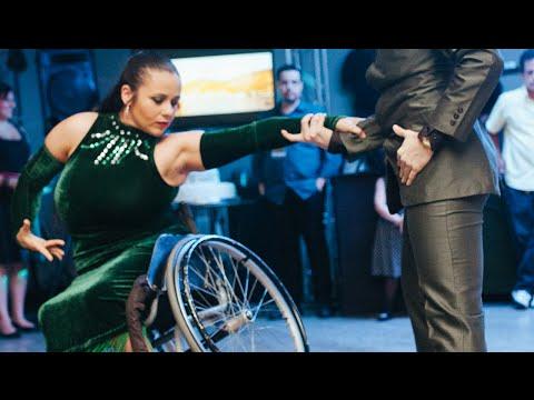 Dance a Dois 10 anos - Viviane Macedo e Gabriel Castro ~ Tango em Cadeira de Rodas
