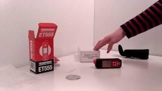 Обзор толщиномера ЕТ 555.  Отзыв покупателя.