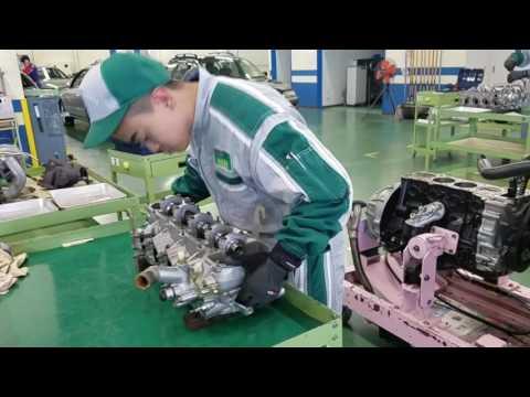 Фото к видео: Desmontagem e montagem do motor 1RZ