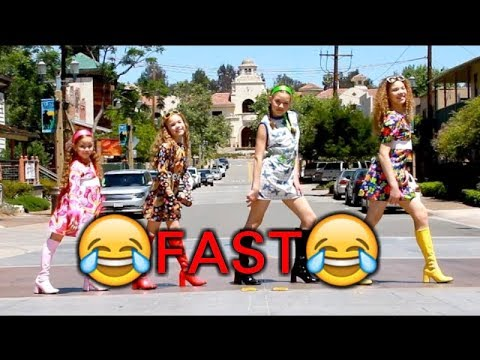 Mark Ronson-Uptown Funk ft Bruno Mars (Haschak Sisters Cover)-FAST