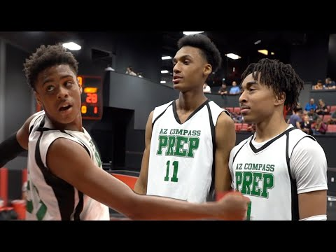 AZ Compass Goes WILD in Debut of New Star Players (Frankie Collins, Maxwell Lewis & Sincere Parker)