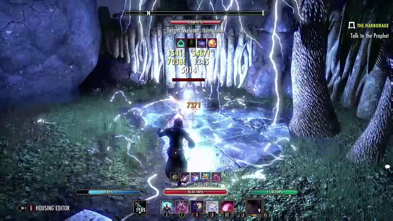Magicka Sorcerer (SafeMode Sorc 1 Pet) – ESO: The Guardians