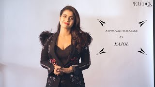 RAPID FIRE CHALLENGE FT. KAJOL