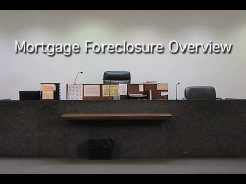 Mortgage Foreclosure Overview