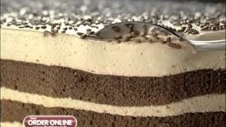 Domino's New Butterscotch Mousse Cake