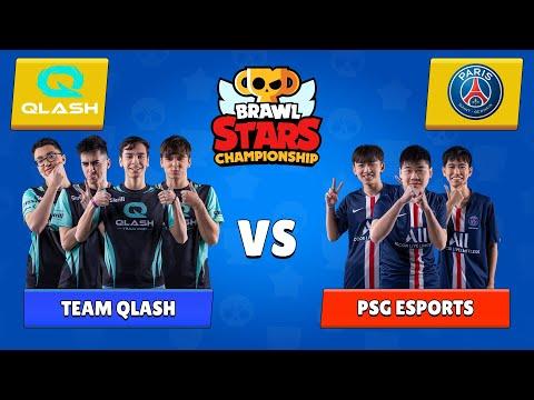 QLASH VS PSG 1ST EVER BRAWL STARS 2020 WORLD CHAMPIONS (MARCH)   WARNING* INSANE GAMES