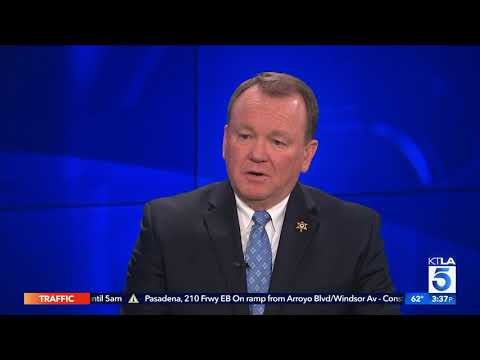 Sheriff Jim MCDonnell on KTLA 5 News at 3pm