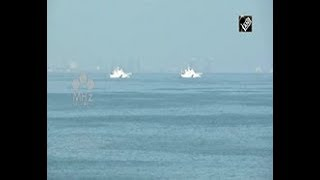 Indian, Japanese Coast Guard hold joint naval drill in southern India