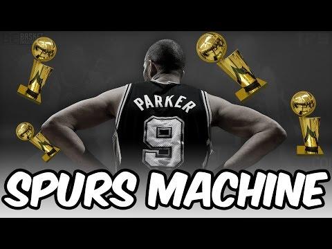 THE SPURS MACHINE! Retooling the San Antonio Spurs! NBA 2K17 My League