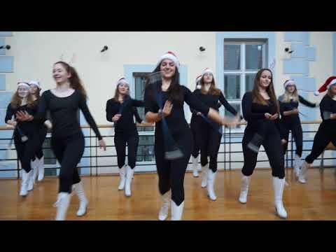 Plesna voščilnica Gimnazije Novo mesto