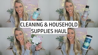 Haul: Cleaning & Household Supplies for Our New House! | Erica Lee