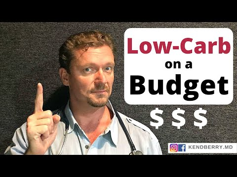 LOW-CARB on a Budget (Keto/LCHF/Banting for LESS ��)