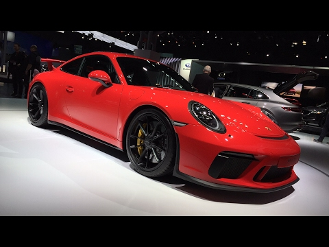 2018 Porsche 991.2 GT3 & Panamera Sport Turismo FIRST DESIGN REVIEW -  LIVE w/ AmmoNYC @ #NYAutoShow
