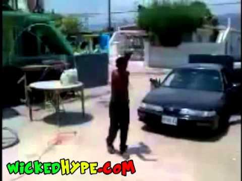 Crazy Jamaican Man Name Tun Corn Meal Cussing His Neighbor