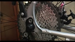 How To Install an 11-40 MTB Cassette on a Road Bike