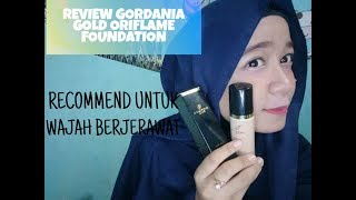 REVIEW FOUNDATION ORIFLAME GIORDANI GOLD